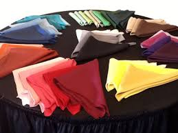 table cloth rentals cloth linen rental