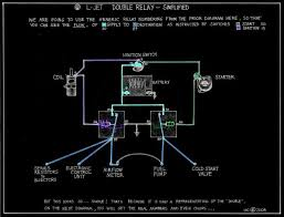 double relay diagram itinerant air cooled