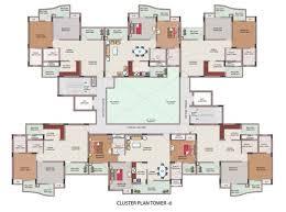 cluster house plans cluster house floor plan