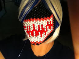 kandi mask venom kandi mask by bahcita on deviantart
