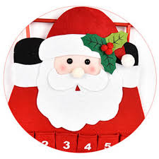 online shop christmas advent calendar craft santa claus snowman