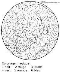 Dessins Gratuits à Colorier  Coloriage Magique Maternelle à imprimer