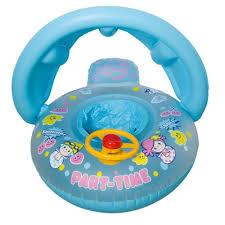 bouée siège pour bébé bleu bouée siège gonflable bébé voiture ceinture direction roue
