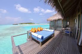 chambre sur pilotis maldives hôtel avis hotel maldives