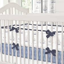 Ocean Baby Bedding Blue Ocean Sailboats Crib Bumper Carousel Designs
