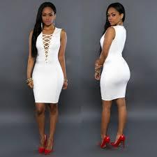 online get cheap white front zipper dress aliexpress com
