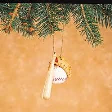 Softball Christmas Ornament - baseball ornaments the christmas mouse