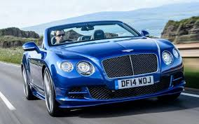 baby blue bentley bentley continental gt convertible review
