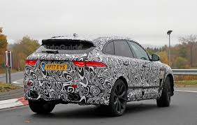 jaguar jeep it looks like jaguar is sticking a 567 hp v8 in the f pace suv