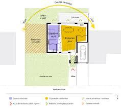 plan maison une chambre plan maison de plain pied avec 1 chambre ooreka