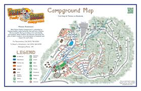 Worlds Of Fun Map by Blue Rocks Campground Map On Behance
