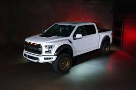 Ford Raptor White - mad industries builds 2018 raptor for ford u0027s sema display