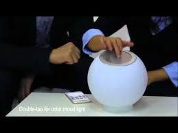 eluma lights speaker system mmoon smart lighting speaker with water proof light balls youtube