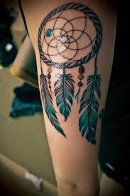 35 awesome dreamcatcher tattoos and meanings dream catchers