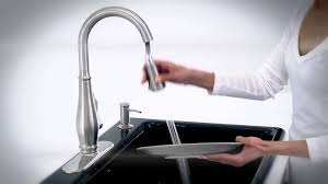 Kohler Evoke Kitchen Faucet by Docknetik U0026 Sweep Spray Cruette Vibrant Stainless Youtube