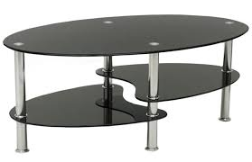 glass table black legs cara black glass coffee table