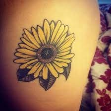 37 best sunflower tattoo designs images on pinterest flowers