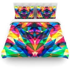 Bright Duvet Cover Taste The Rainbow Bright Bedding Polyvore