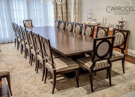 custom art deco mahogany dining table with square back deco chairs