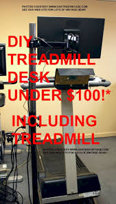 Desk Treadmill Diy Diy Cheap Treadmill Desk How To Make A Cheap Walking Desk