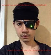 Metal Gear Halloween Costume Halloween Costume Cosplay Game Mask Snake Metal Gear Solid Eye
