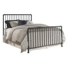 Iron Sleigh Bed Blue Sleigh Beds You U0027ll Love Wayfair