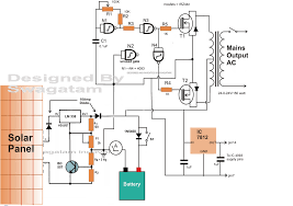 how to make a simple floor plan how to make a solar inverter circuit electronic circuit projects
