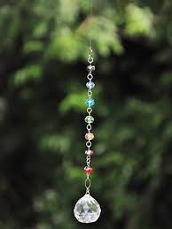 hanging crystals hanging crystals garden décor ornaments accessories