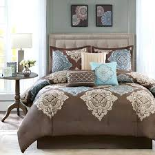 Light Blue Bed Comforters Light Blue And Brown Duvet Covers White And Brown Comforter Sets