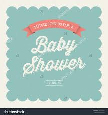 color baby shower invitation