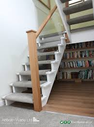 Staircase Renovation Ideas Open Tread Cut String Staircase Renovation Flipper Pinterest