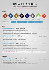 sample creative resume 50 awesome resume designs that will bag