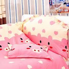 Crib Bedding Pattern Adorable Pink Piggy Pattern 10 Crib Bedding Sets
