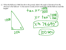1 2 intro to related rates trig ratios math geometry showme