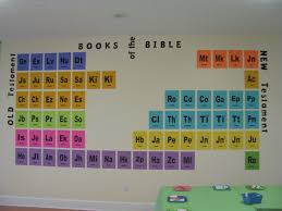 spectacular sunday decor periodic table bible and sunday