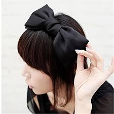 headband with bow huayang sweet korean style big bowknot hair band bow