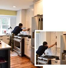how to install subway tile kitchen backsplash kitchen subway tile kitchen backsplash installation burge