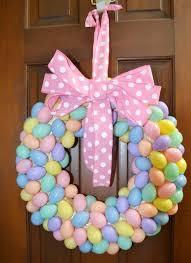Handmade Easter Yard Decorations by Best 25 Easter Wreaths Diy Ideas On Pinterest