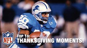 top 10 thanksgiving moments nfl