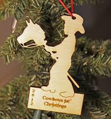 laser engraved stick tree ornament
