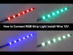 alpena flex led lights installation how to connect power led tape strip rgb lighting 12v installing tips