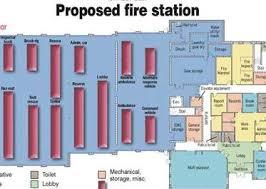 Fire Department Floor Plans Council Vote Ends Contentious Fire Station Discussion Gazettextra