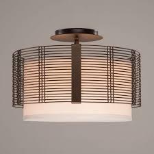 Flush Ceiling Lighting by Downtown Mesh Semi Flush Ceiling Light By Hammerton Studio Ylighting