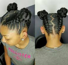 pondo hairstyles for black american natural hair styles for kids and teens buns and updo s pinterest