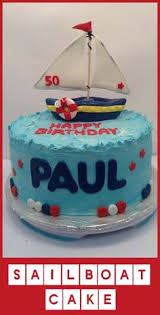 sail away with an easy sailboat cake amazing cakes pinterest