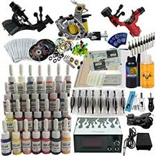 amazon com professional complete tattoo kit 2 rotary tattoo