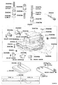 lexus rx300 oil lexus rx300 mcu10l awpgka 3512 valve body u0026 oil strainer atm
