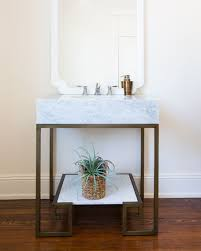 Marble Top Vanities Sabina Marble Top Vanity And White Porcelain Sink