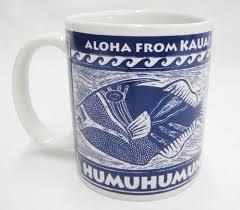 aloha from kauai mug hawaii state fish humuhumunukunukuapua u0027a