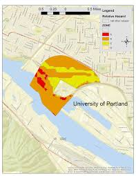 Map Portland Or by Close To Home Relative Hazards U0026 Income Surrounding Portland